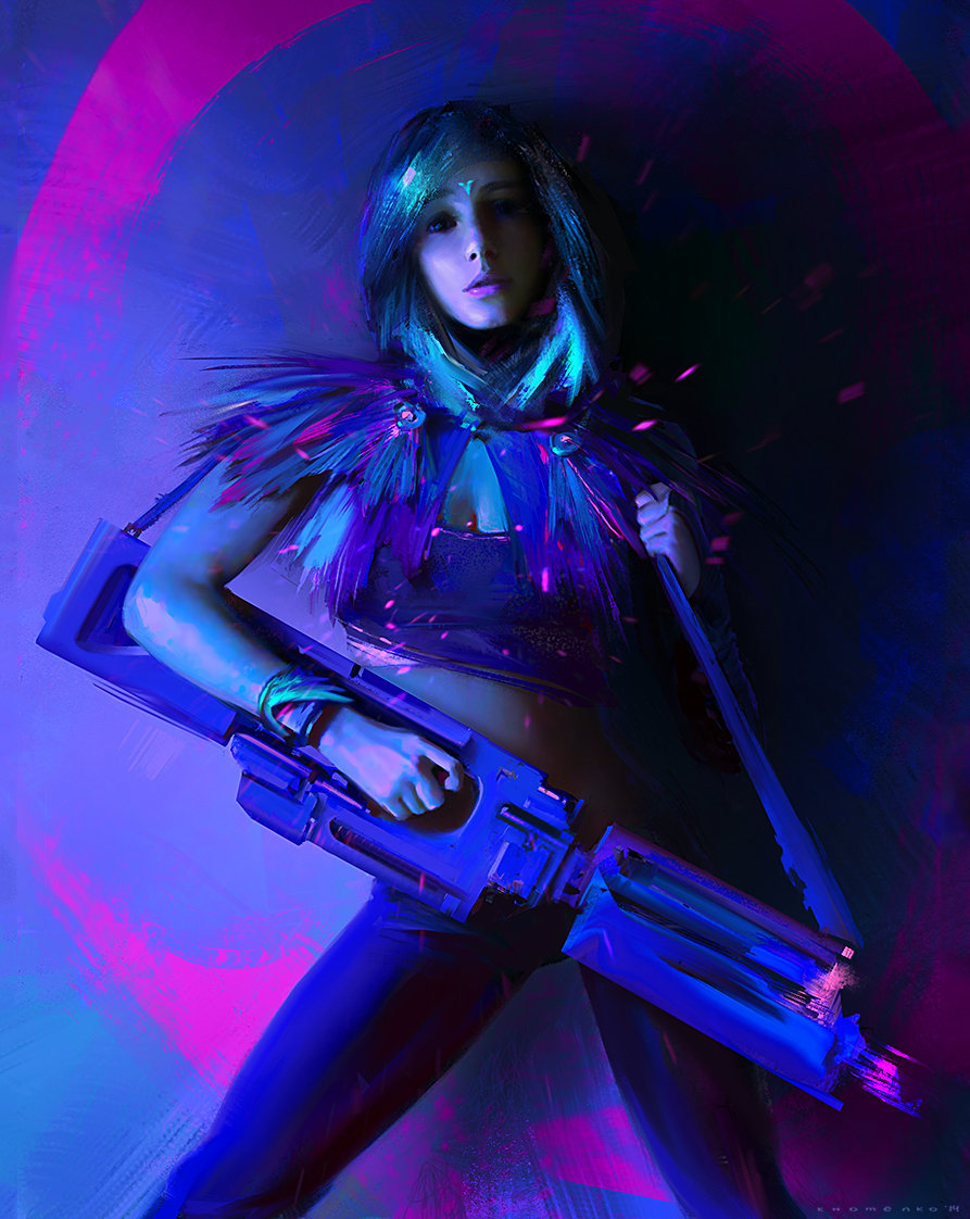 Girl With Gun, Ivan Khomenko