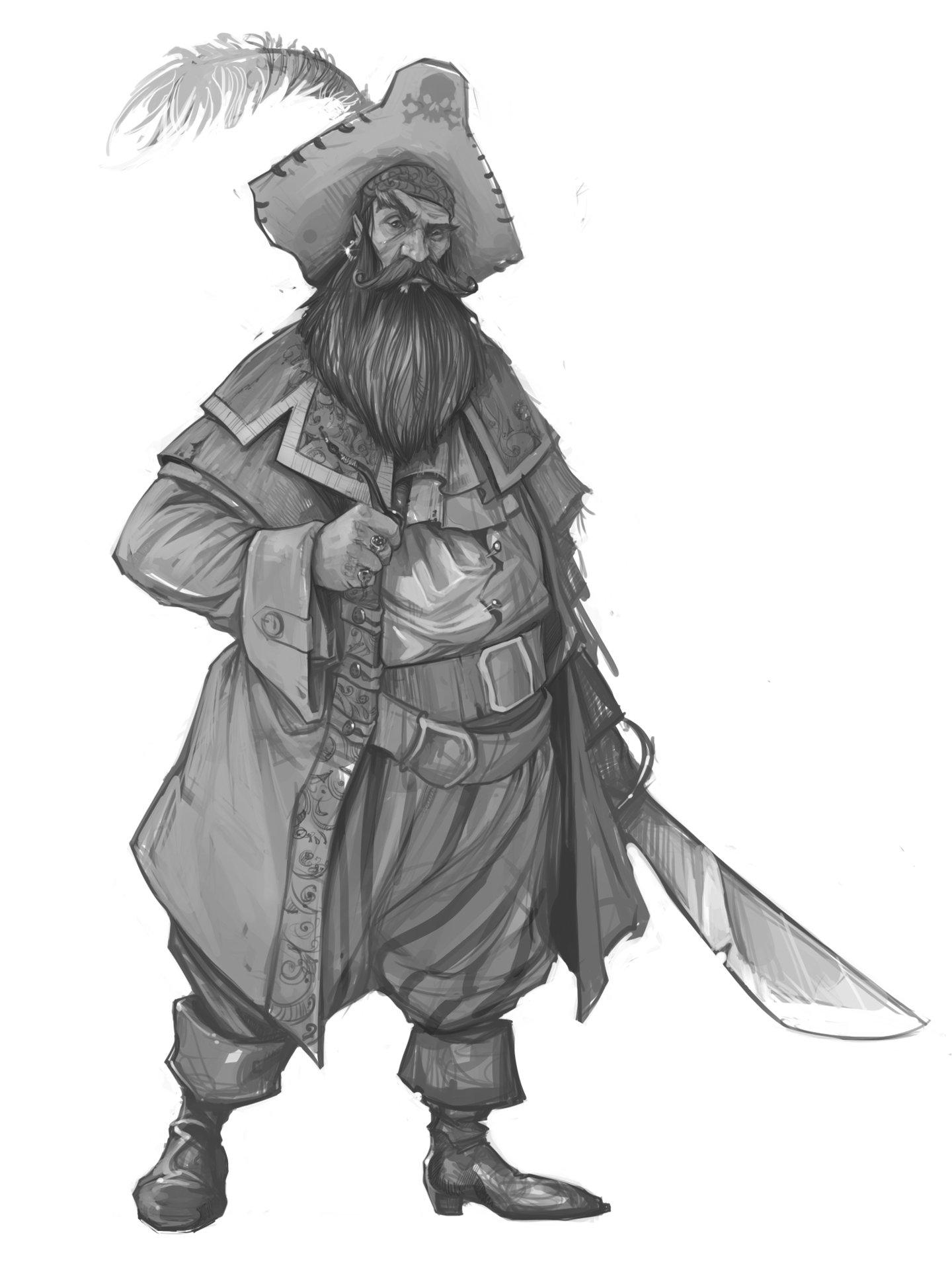 Denys tsiperko pirate