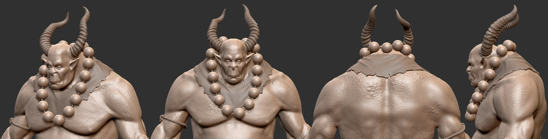 Renato eiras demon closeup sculpt