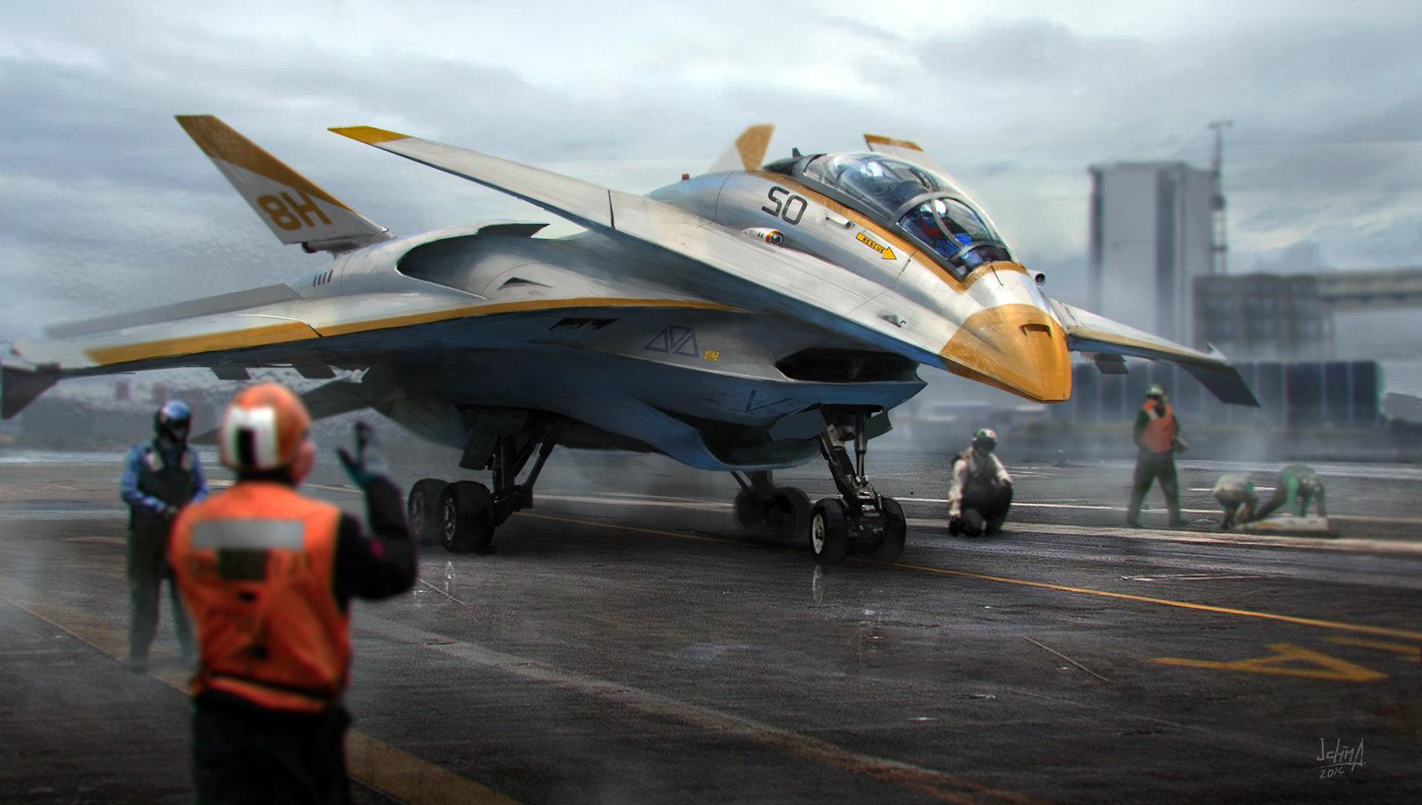 Alex ichim jet fighter