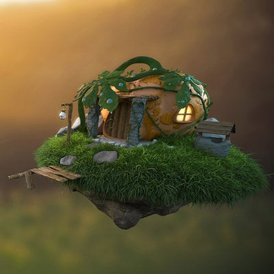 Francis law pumpkin house by crumpety d7mlpni