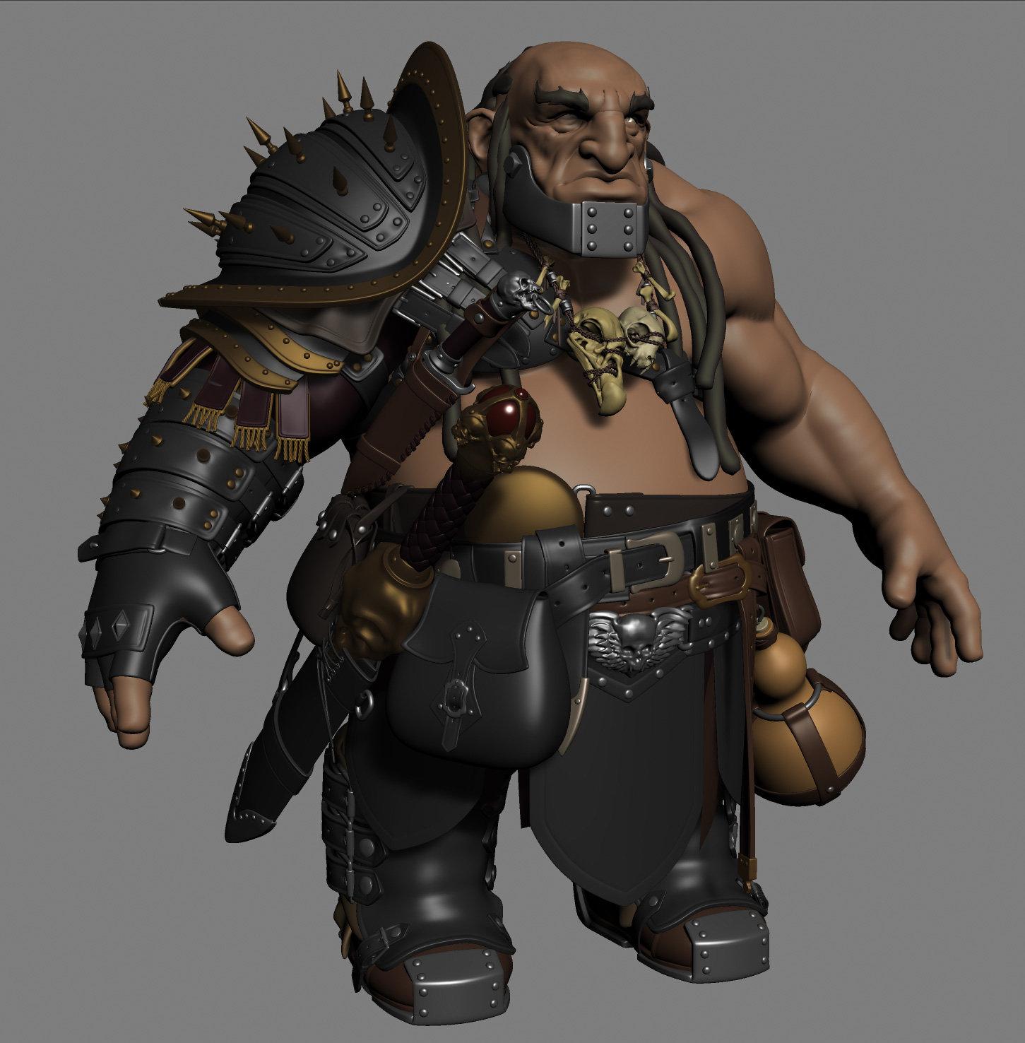 Bruno camara dwarf wip3d