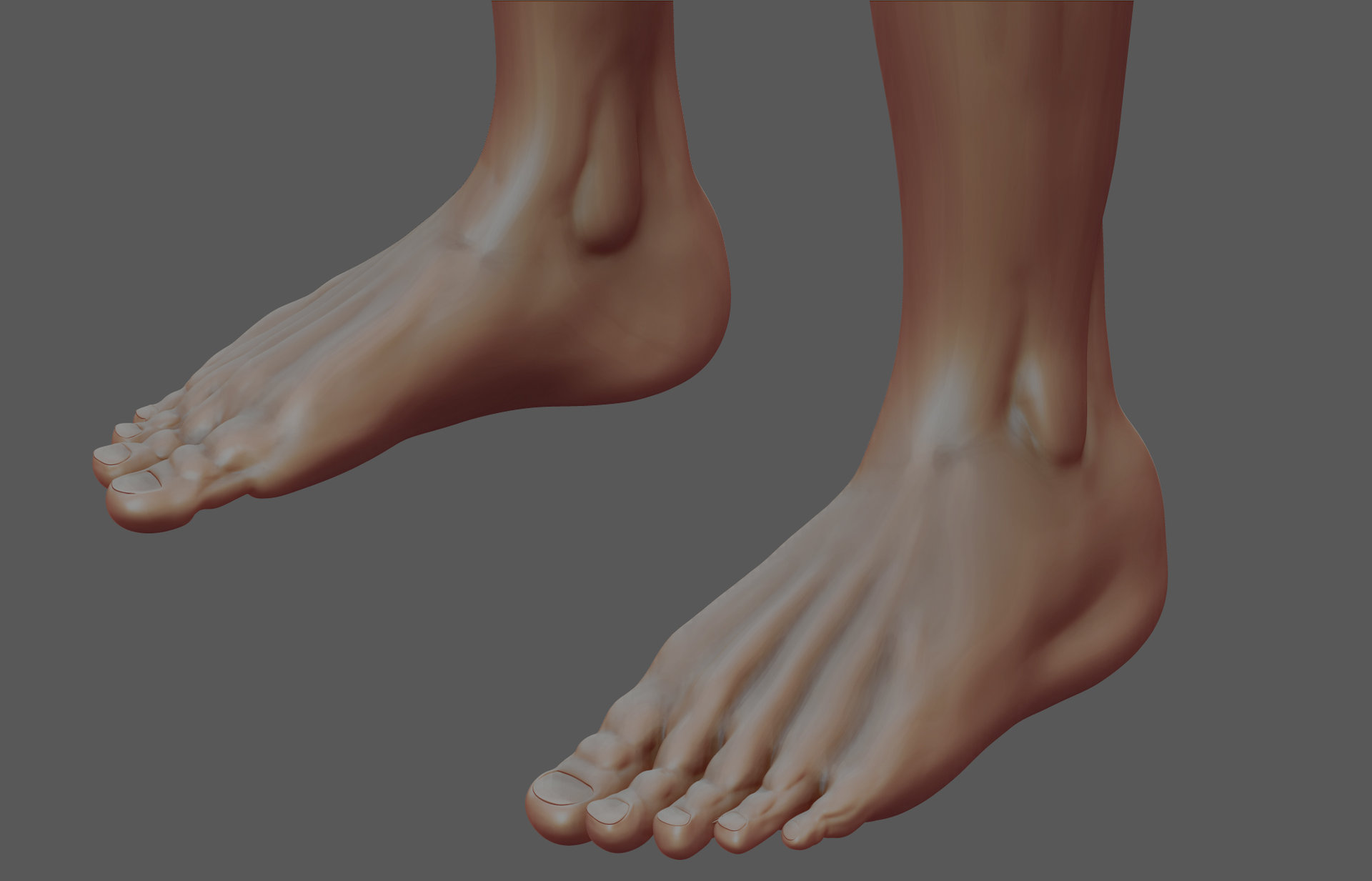Osama Ahmed - Male_ Anatomy Feet