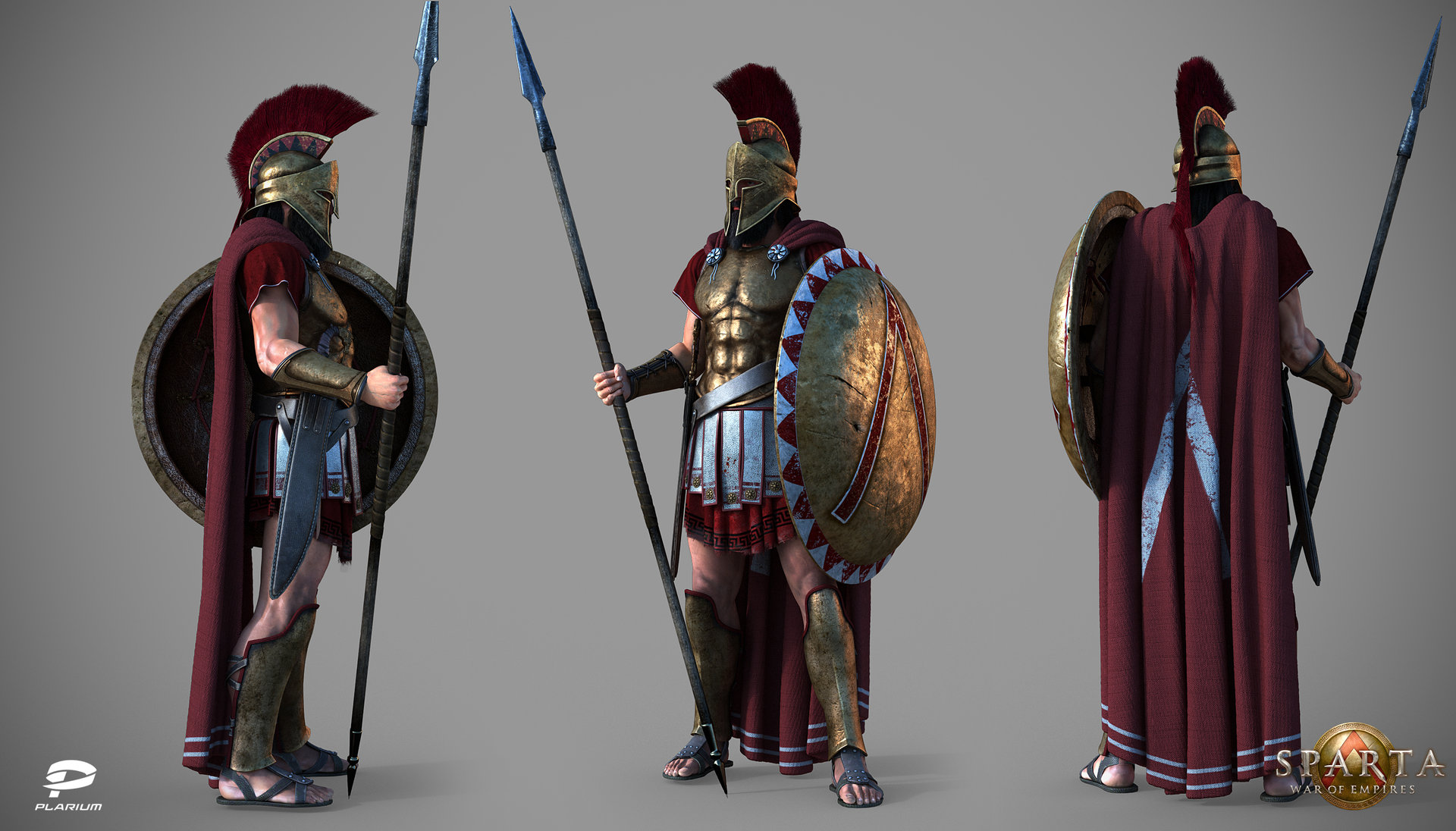 ArtStation - Sparta: Hoplite, Vladimir Silkin