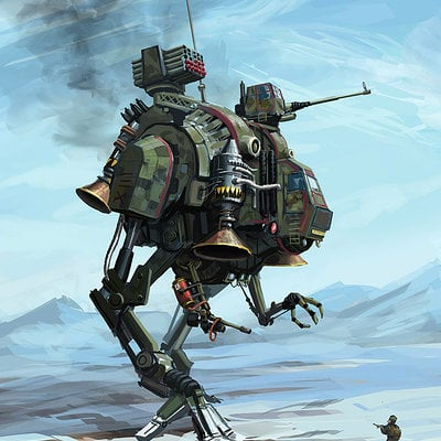 Tom mcgrath biped mech