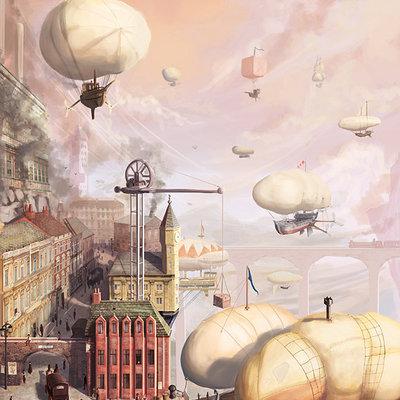 Tom mcgrath airship docks