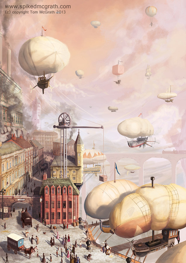 Tom mcgrath airship docks