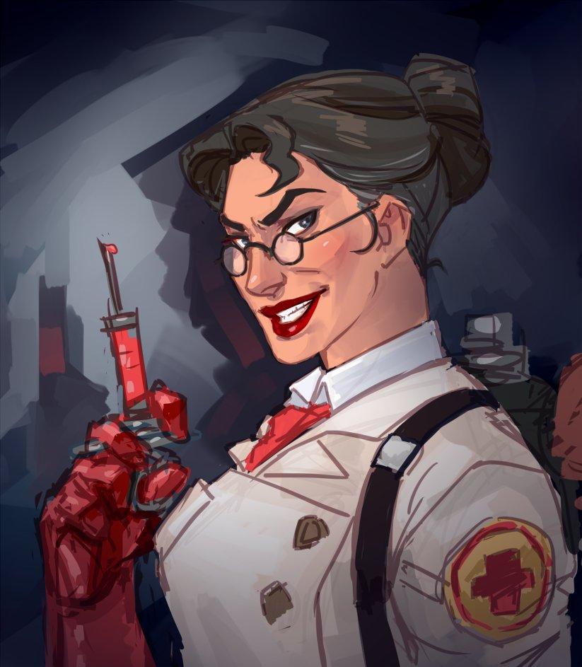 Tf2 Female Medic
