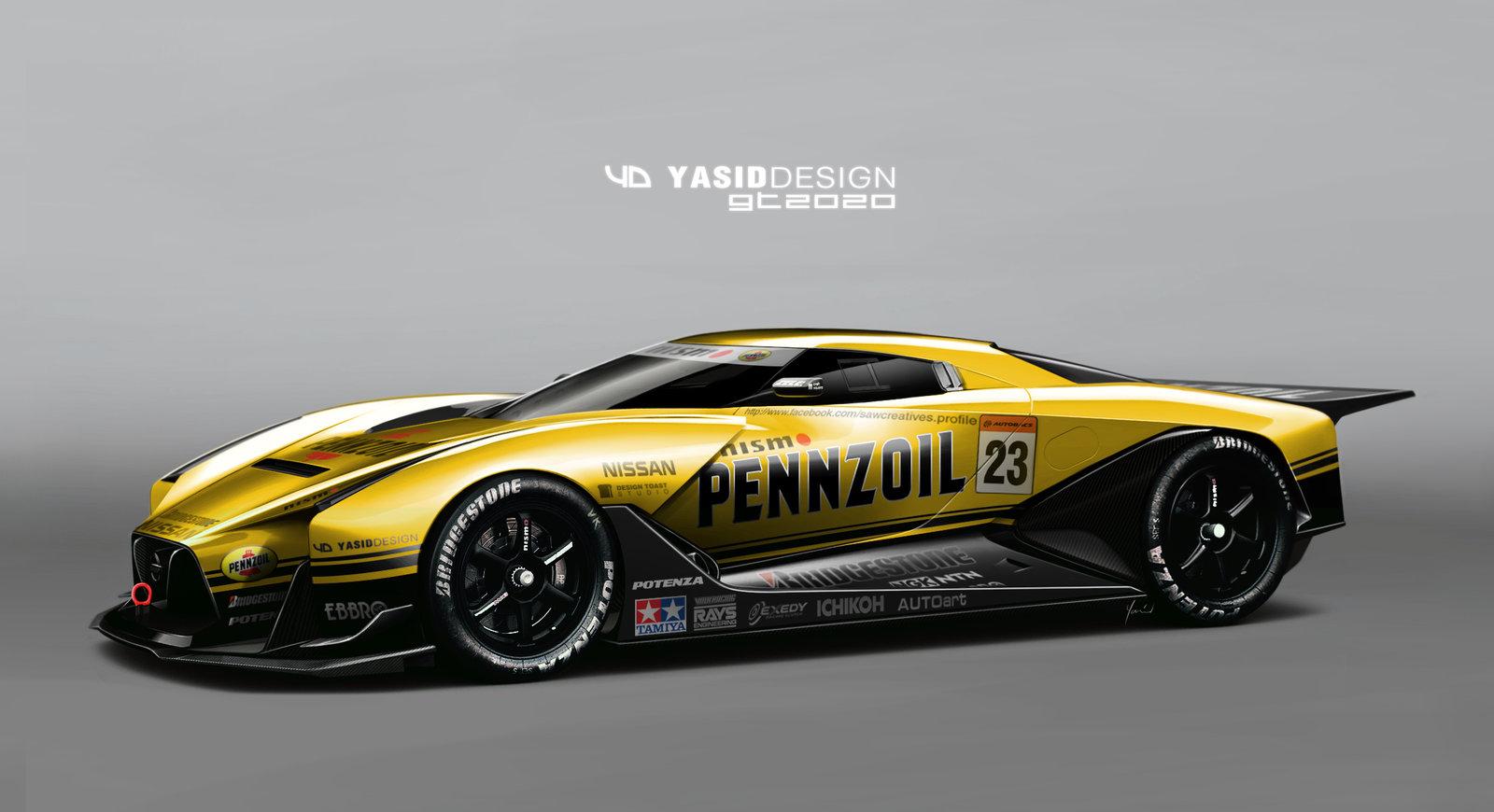 Nissan GT 2020 Pennzoil