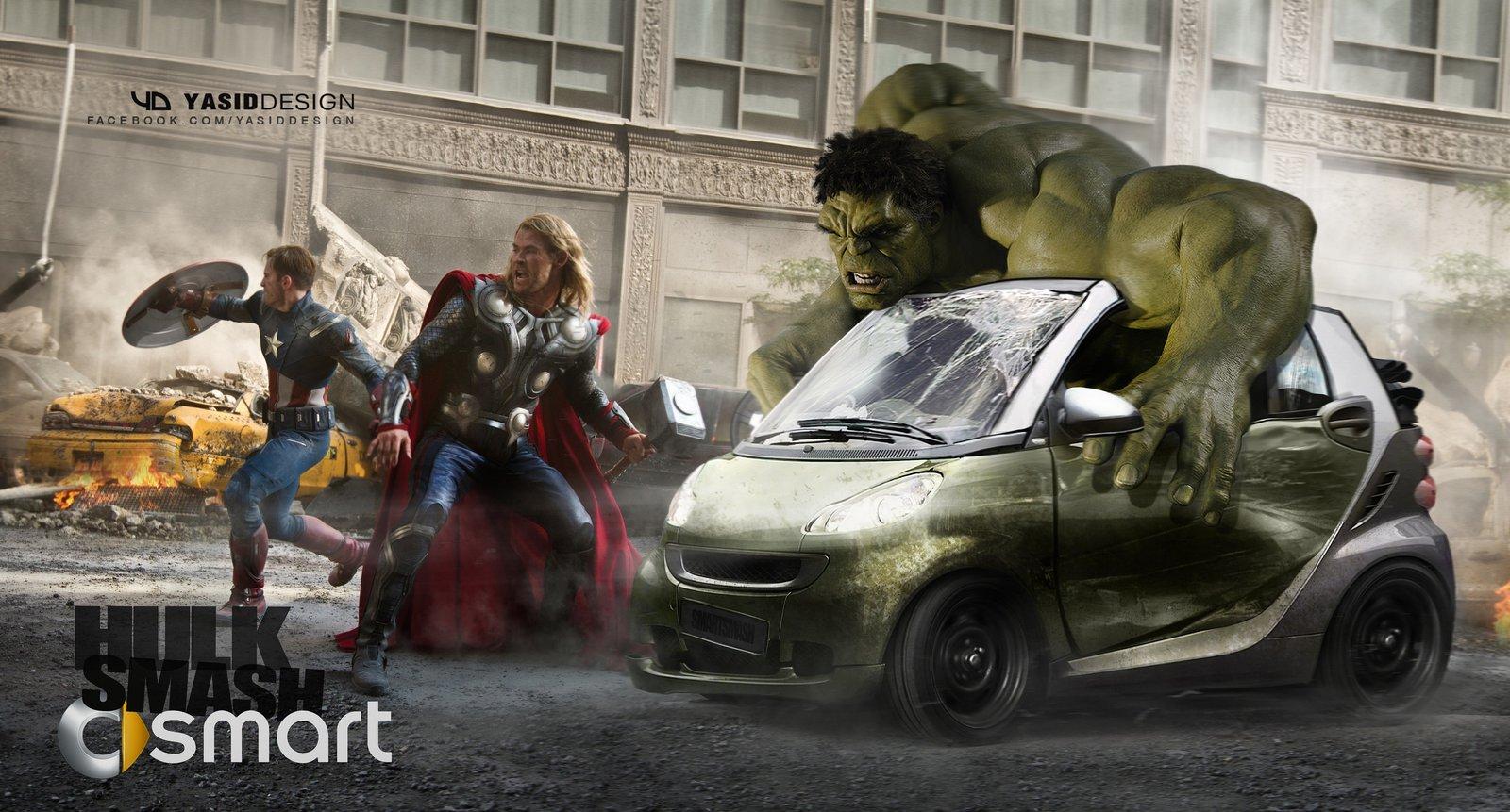 Hulk Smart smash.