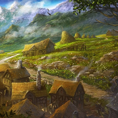 Sabin boykinov gondorian hamlet by sabin boykinov d6nildy