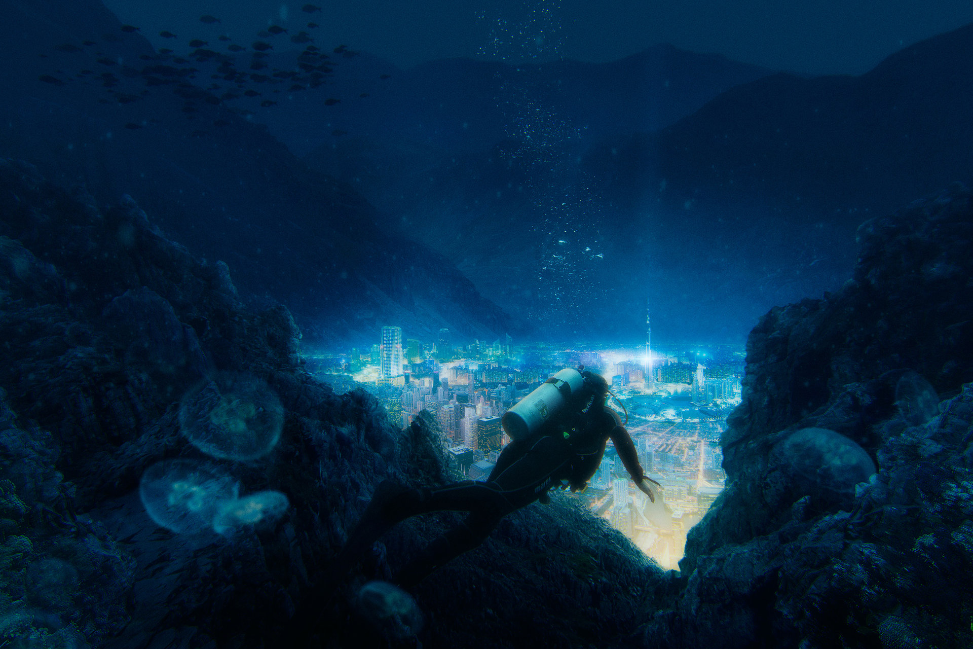 Phil Roberts Underwater City