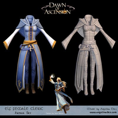 Cloth Armor - In game
