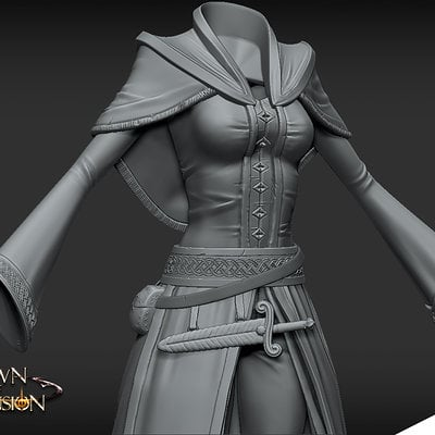 Cloth Armor - High Poly