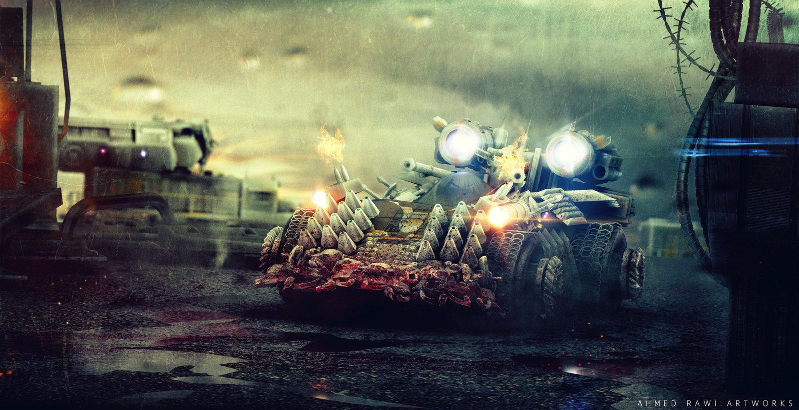 Anti Zombie Vehicle..Episode 3!