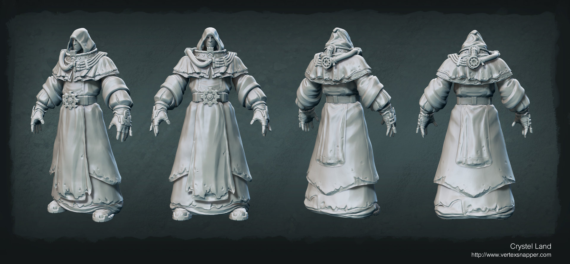 Crystel land techpriest2