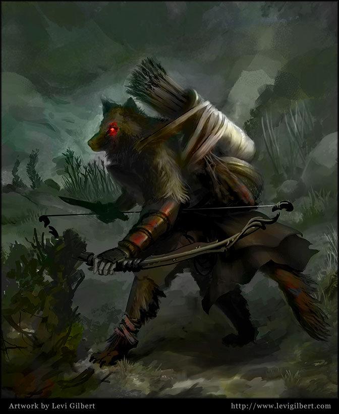 Levi gilbert wolfranger
