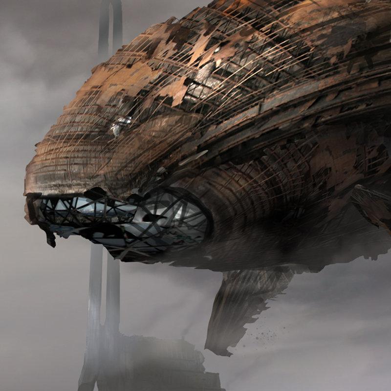 Rust whale