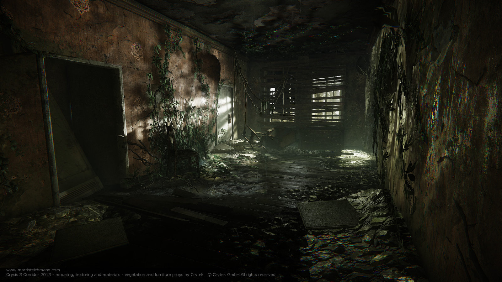 Crysis 3 Corridor - Root of All Evil