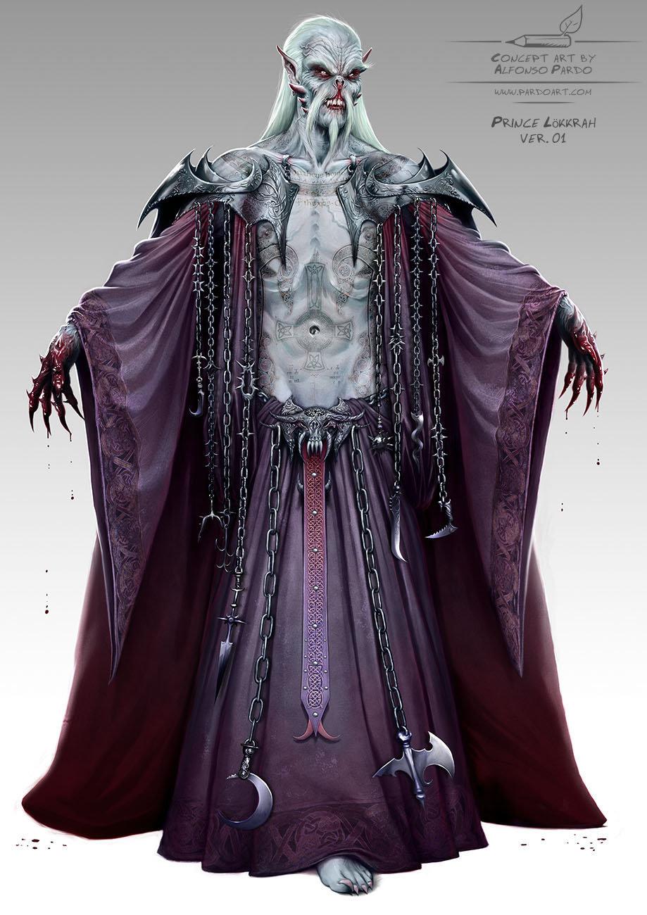 Vampire - Prince Lokkrah