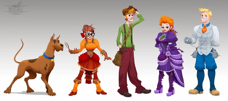 VIctorian Scooby doo