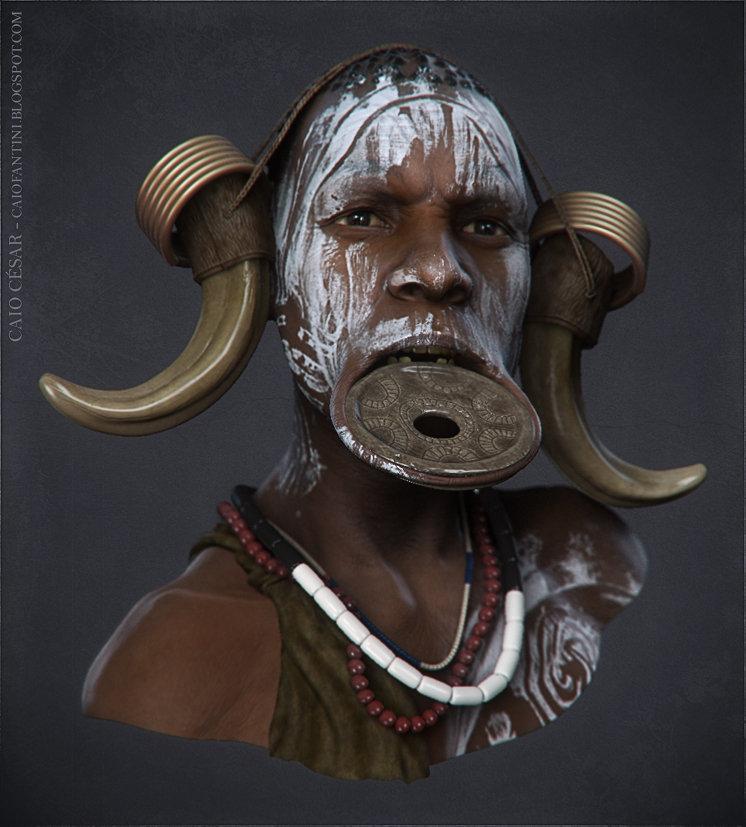 Caio cesar african03
