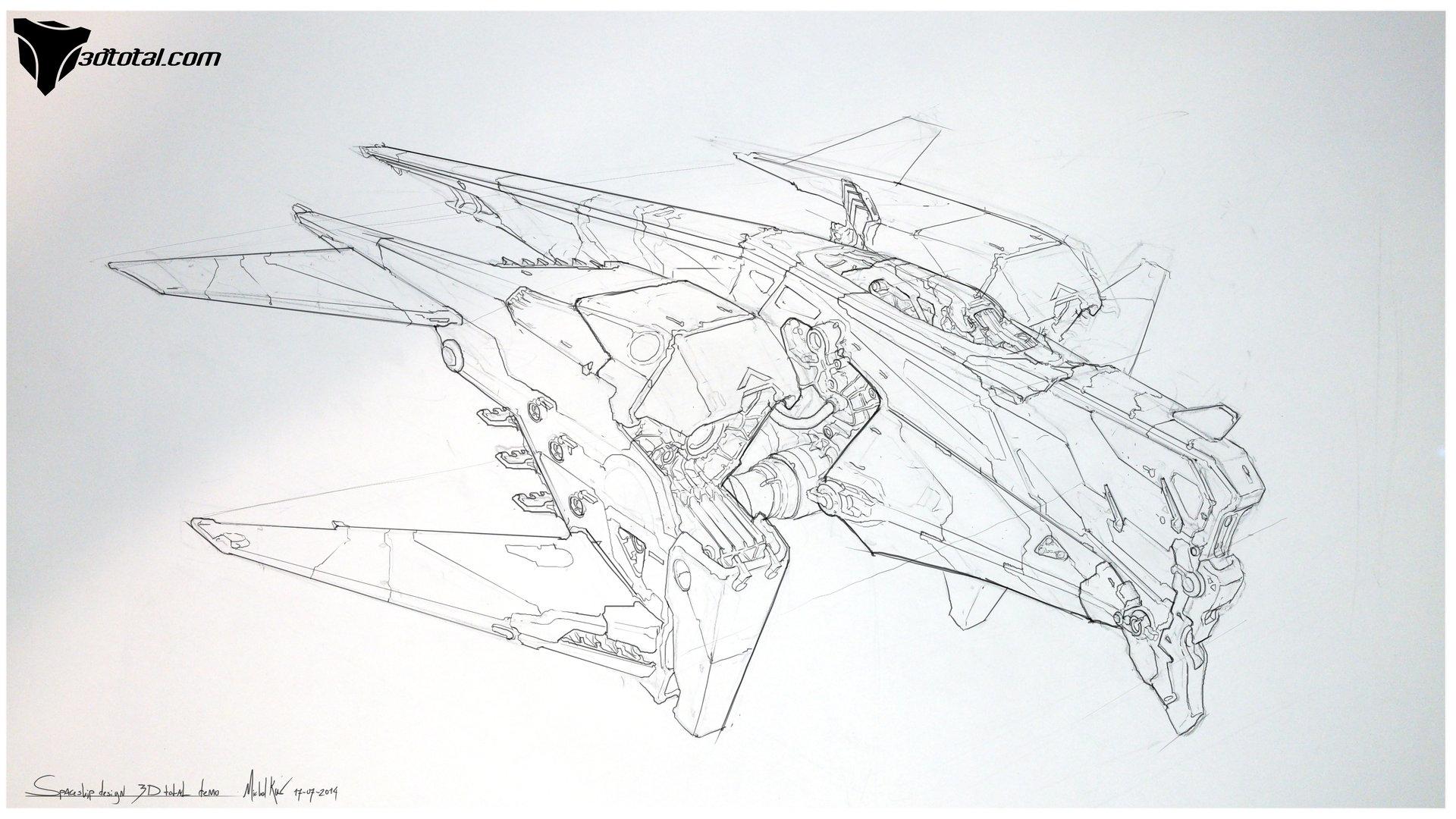 Michal kus 3d total sketch