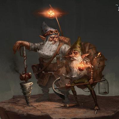 Bram sels grin woolfe boco dwarves