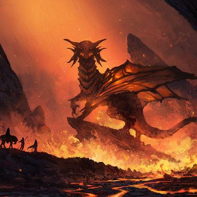 Jorge jacinto god of fire by jorgejacinto