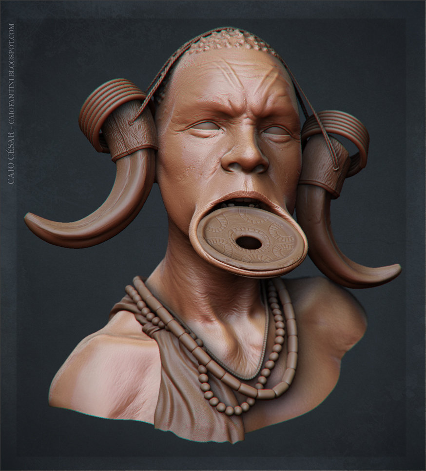 Caio cesar africano shader500k