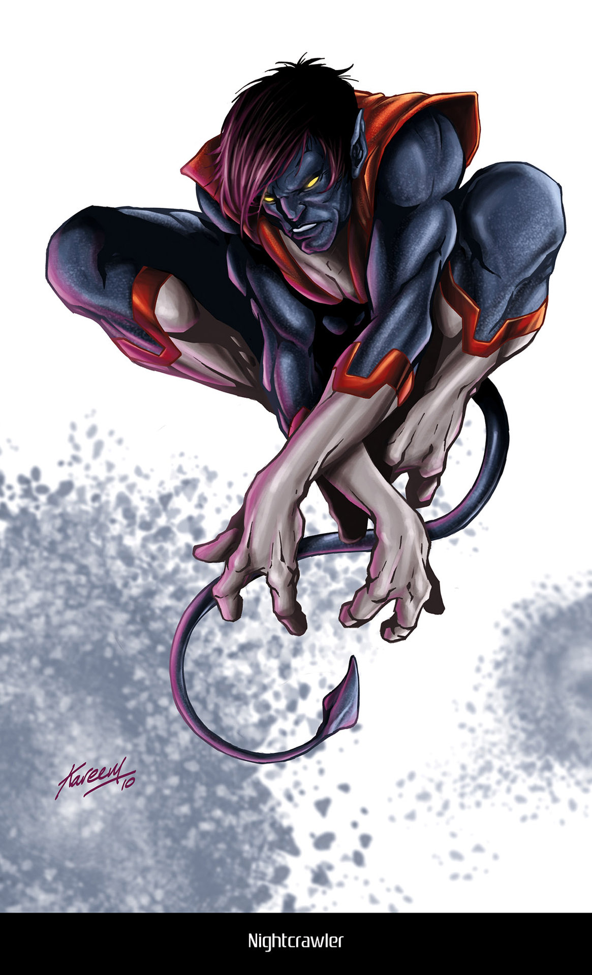 Kareem ahmed nightcrawler low