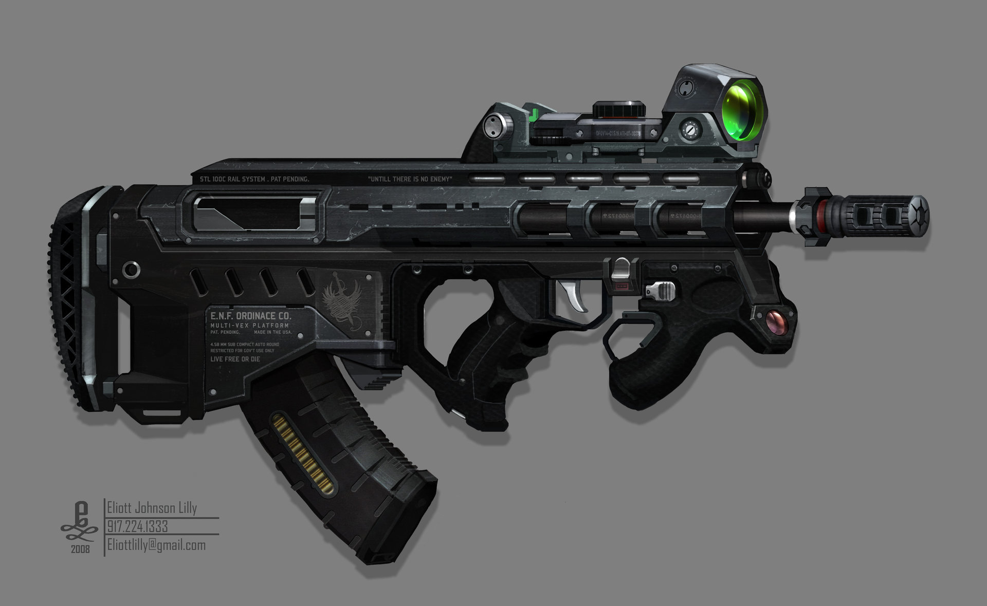Eliott lilly gun 10