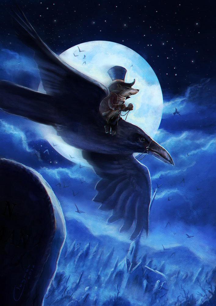 Jan clayman raven flight ca