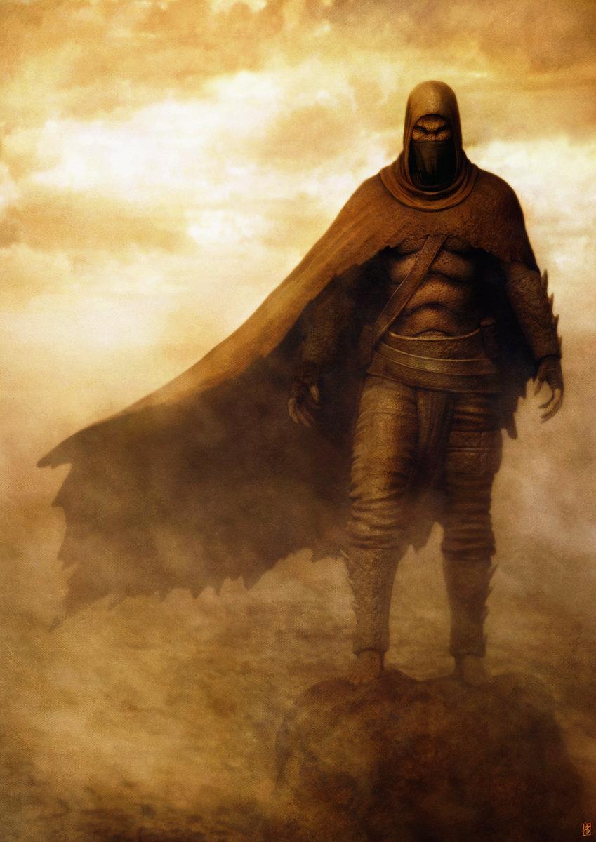 Riyahd cassiem desert sanai warrior by sancient