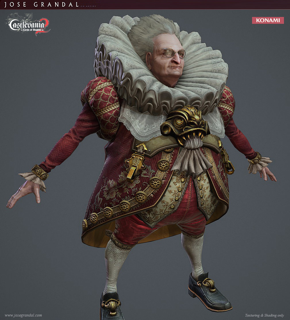 Castlevania: Lords of shadow 2. Toymaker