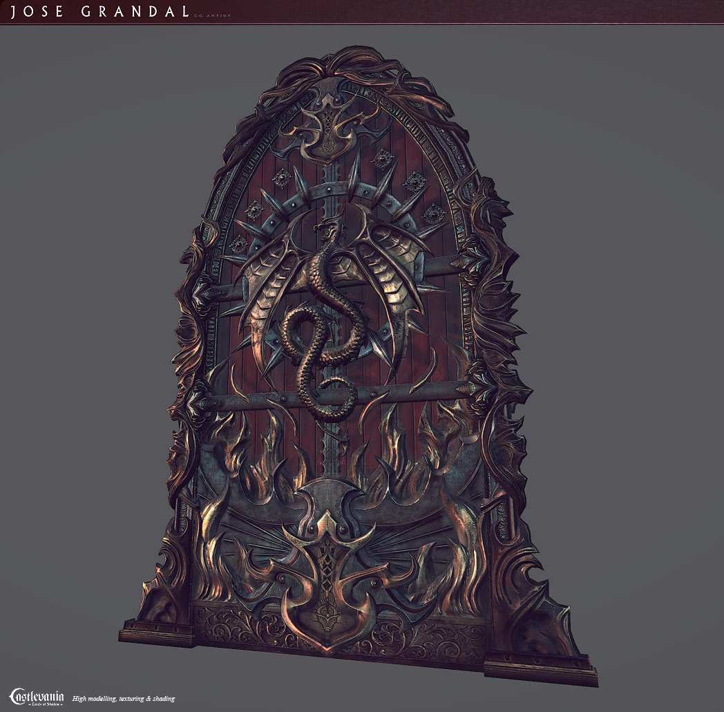 Castlevania: Lords of shadow 2. Door Throne