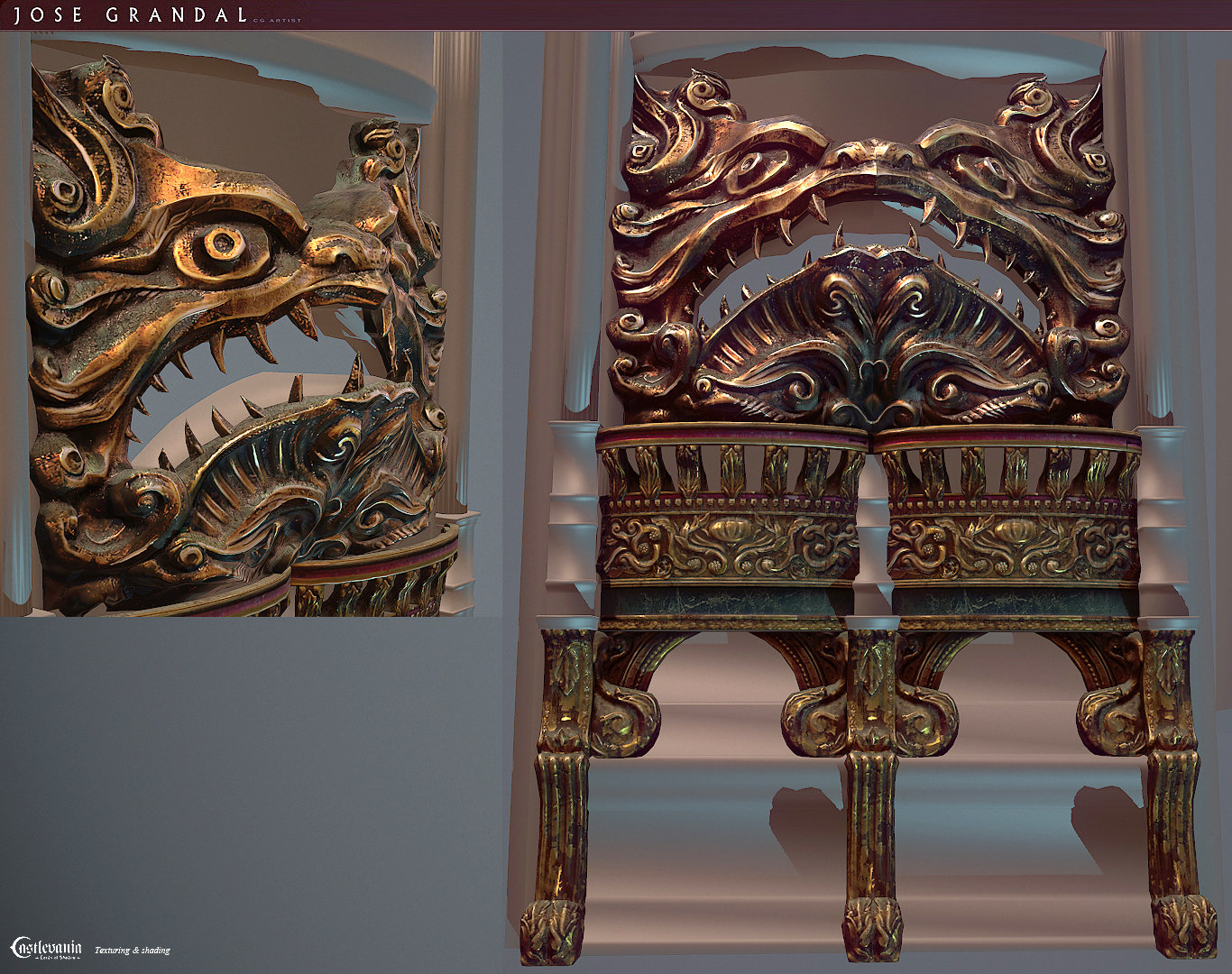 Castlevania: Lords of shadow 2. Some props