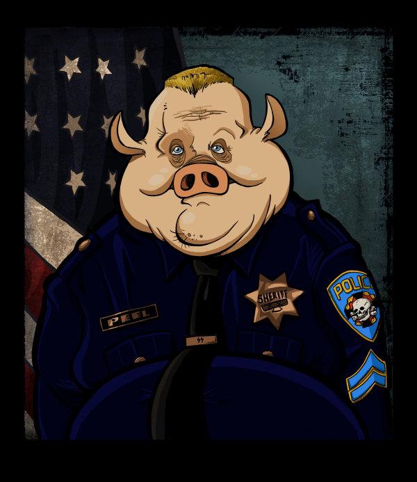 Steve rampton officer peel
