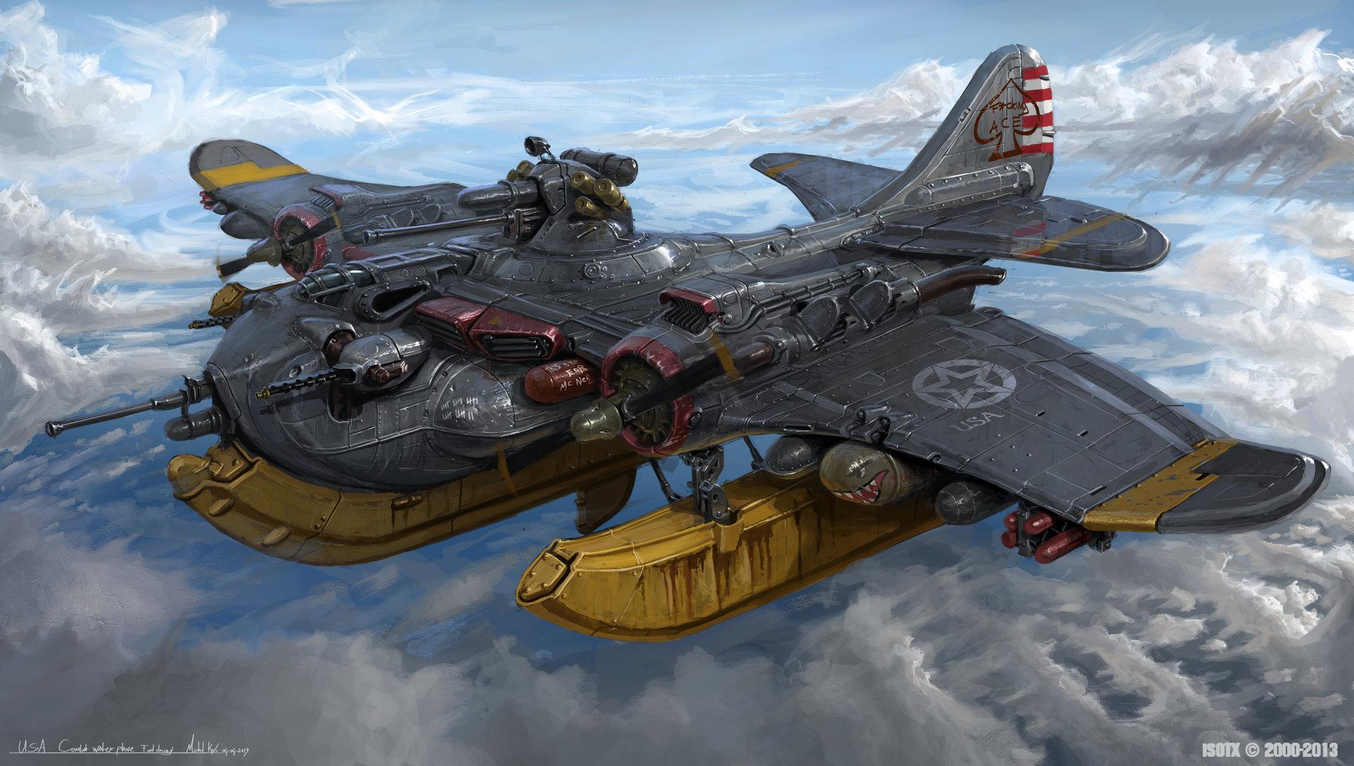 Michal kus usa combat water plane final