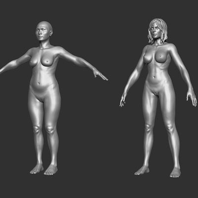 Hector moran female3d bases 01