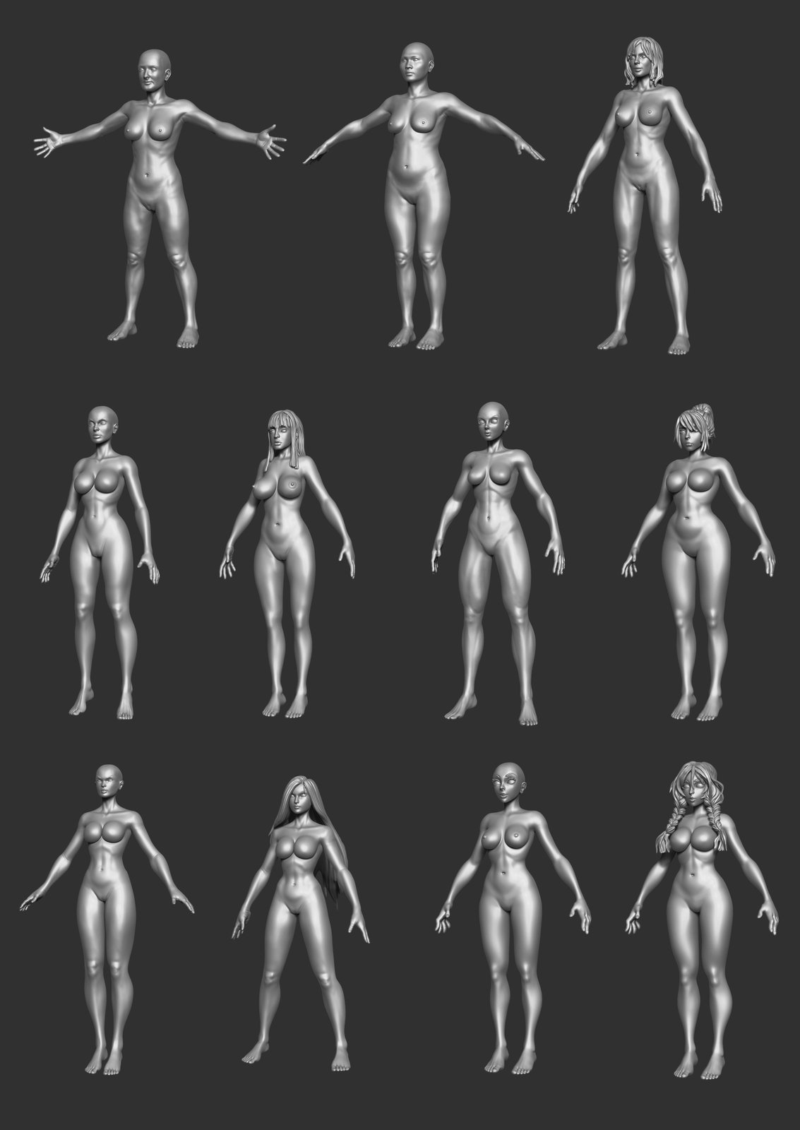 Inventory - Female Bodies