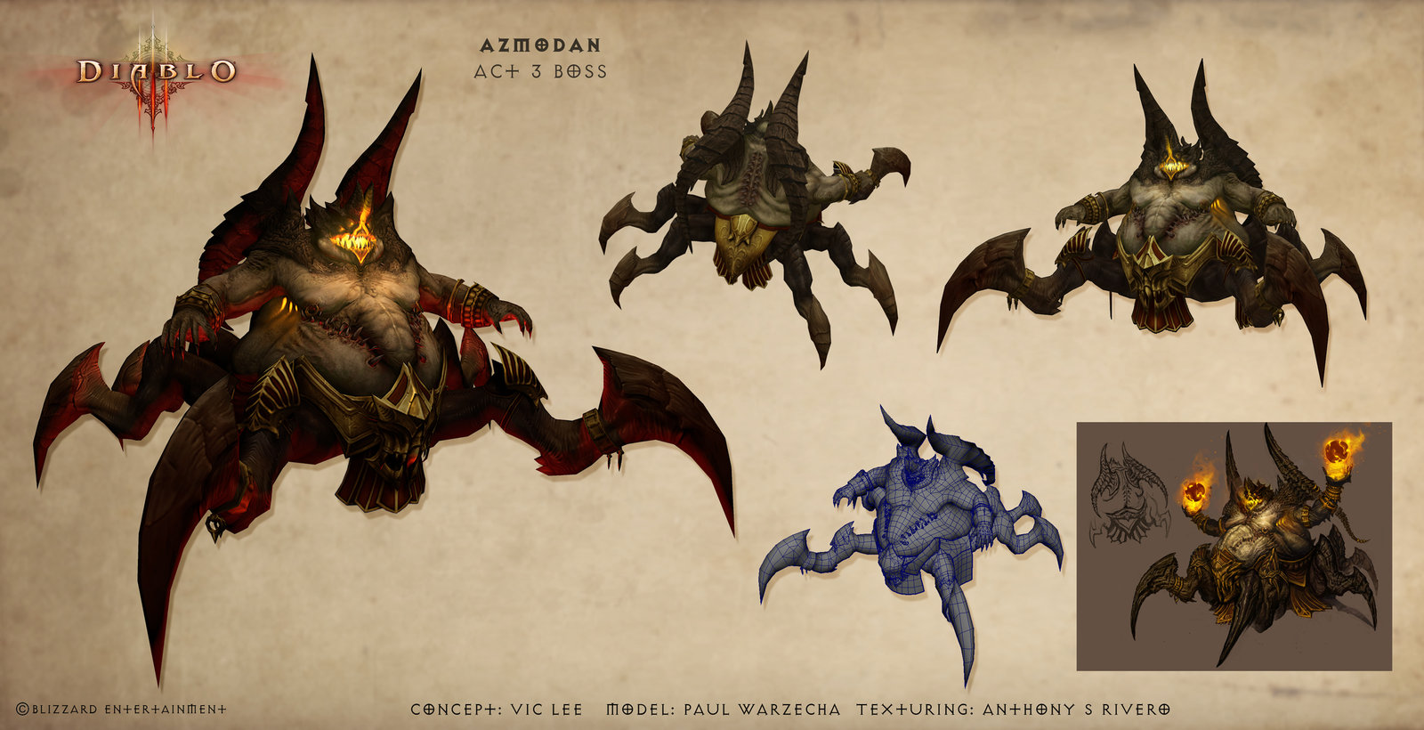 Diablo 3 Azmodan