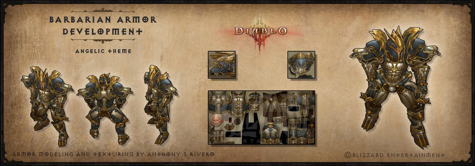 Diablo 3 Barbarian Armor