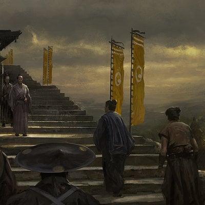 Gal or samurai stairs4