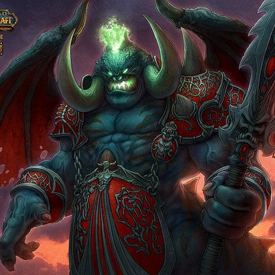 Kerem beyit wow tp9 a053 mannoroth red version