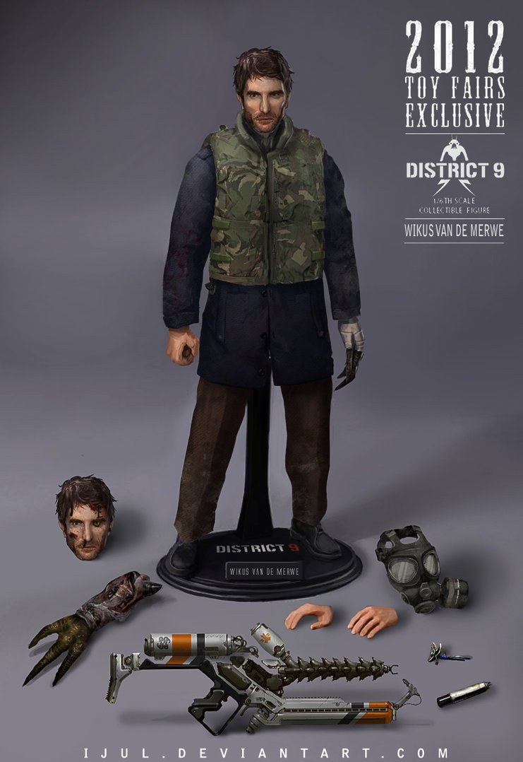 Zulkarnaen hasan basri wikus van de merwe 1 6th scale collectible figure by ijul d57osol
