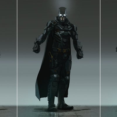 Brad wright batman redesign