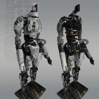 Brad wright mech soldier unit 01