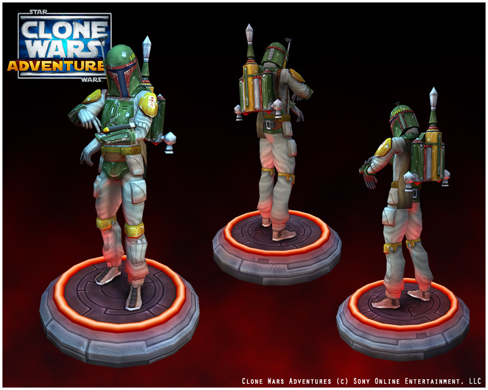 Clonewars Adventures Online Character Assets