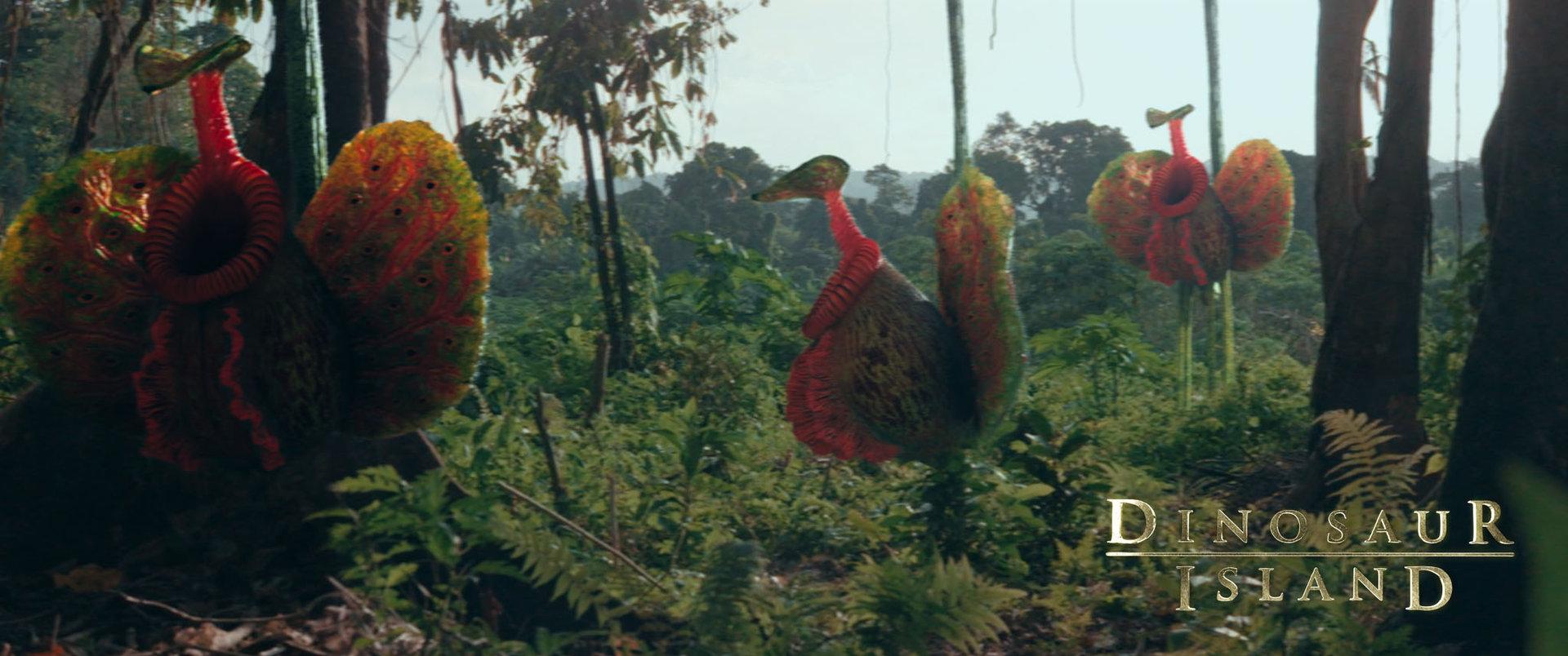 Calin iordache dinosaurisland epiphytes